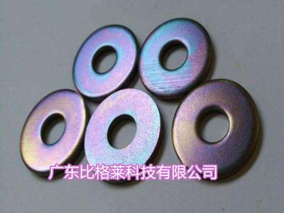 使用锌镍合金彩色钝化剂过程中,镀层钝化膜出现颜色不均匀的原因