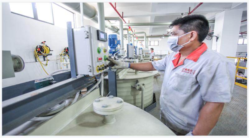 ISO9001质量管理体系,为比格莱科技生产的每一款电镀添加剂保驾护航