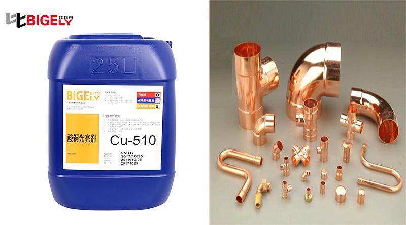 比格莱酸性镀铜光亮剂Cu-510效果图