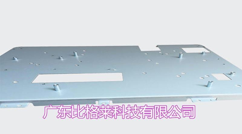 电脑机壳使用比格莱碱性镀锌光亮剂效果图