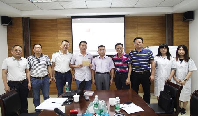 广东省科技协会领导莅临比格莱视察与慰问一线科技创新工作者