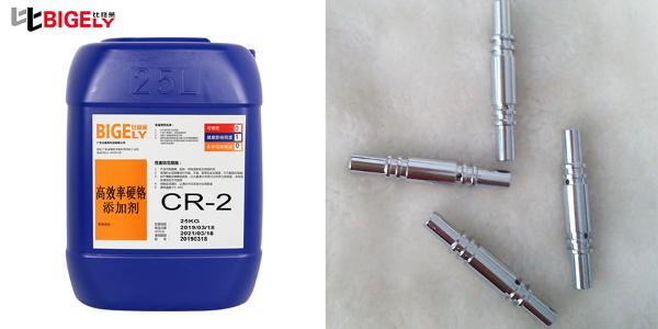 使用硬铬添加剂时,工件镀层前处理不当出现针孔现象该怎么处理呢?